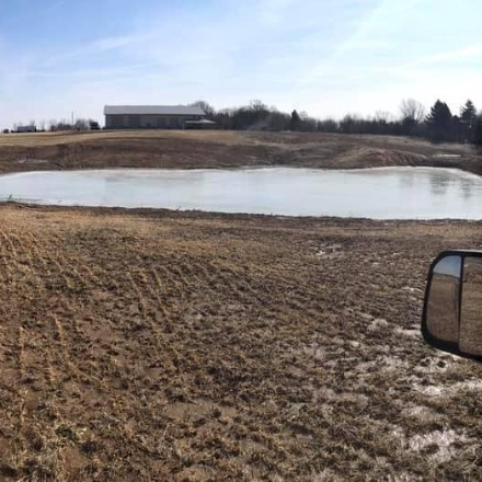 Building a Lake in Macomb, IL